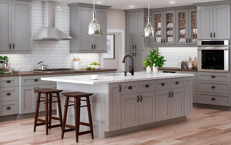 Home Styles White Kitchen Cart